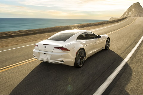 <p><strong>The Karma Revero was named Luxury Green Car of the Year by <em>Green Car Journal</em>. </strong>Photo courtesy Karma Automotive</p>