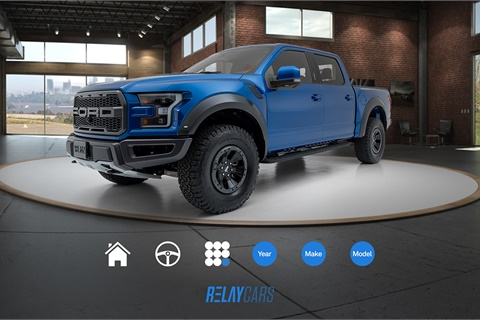 RelayCars has added a series of new features to its virtual reality app. Photo courtesy RelayCars
