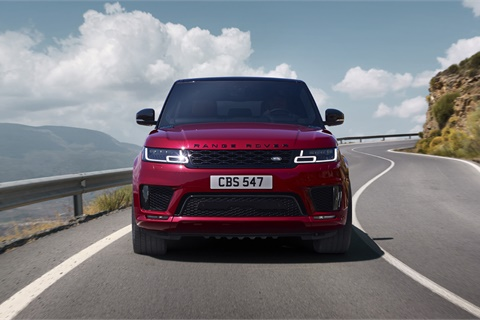 Land Rover notched five total wins in the 2018 ALG Residual Value Awards, including an 11th consecutive category win for the Range Rover Sport. Photo courtesy Jaguar Land Rover North America
