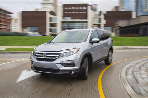 Honda's sales were up 8.2% in November, leading a surge in sales for international brands in an otherwise plateauing U.S. market. Photo courtesy American Honda Motor Co.