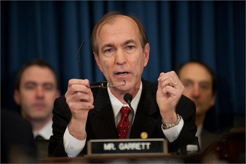 <p>Rep. Scott Garrett's amendment to H.R. 4660 would prohibit funds made available by the act from being used for litigation that relies on the disparate impact theory.</p>