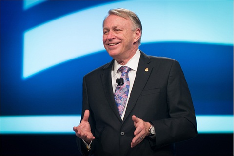 Outgoing NADA Chairman Dave Westcott