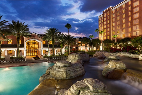 <p><strong>Industry Summit 2018 will be held Oct. 8–10 at the Caribe Royale Orlando in Orlando, Fla. </strong><em>Photo courtesy Caribe Royale</em></p>