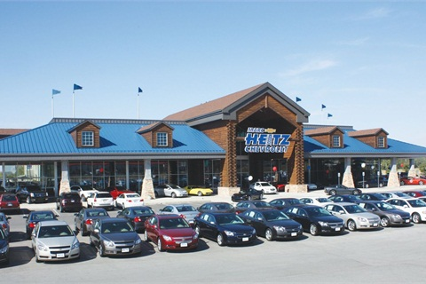 Marc Heitz Chevrolet underwent a $20 million facility renovation four years ago to model itself after a Bass Pro Shop. After that, Heitz refused to make the new upgrades that General Motors required for its Essential Brand Elements program. So he sold the dealership to Dealer Rob Stanley on Dec. 19, 2012.