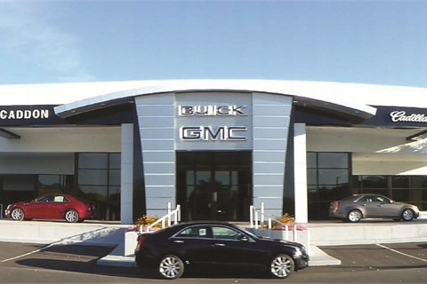 <p>McCaddon Cadillac Buick GMC</p>