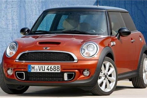 The Mini Cooper, Edmunds.com's top pick for subcompacts.