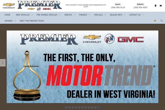 Premier Chevrolet Buick GMC Has Been Selected To Be The First Dealership In  West Virginia Able To Certify Its Pre Owned Vehicles With The Exclusive  Motor ...