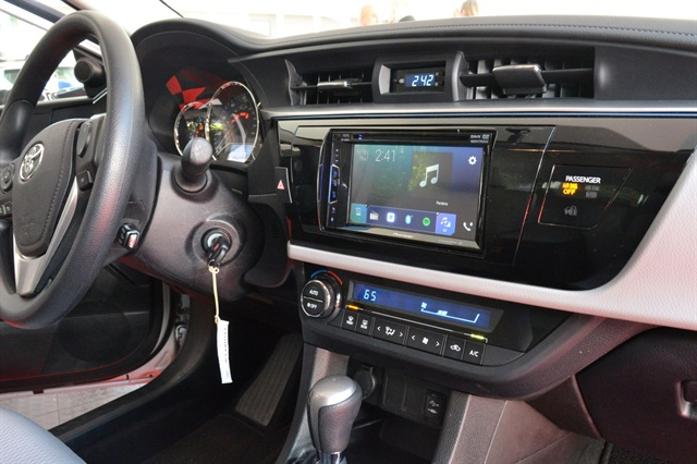 A 2016 Toyota Carola shown with the AVH-1300NEX, priced at $400.