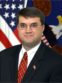 Robert Wilkie, Under Secretary of Defense for Personnel and Readiness.