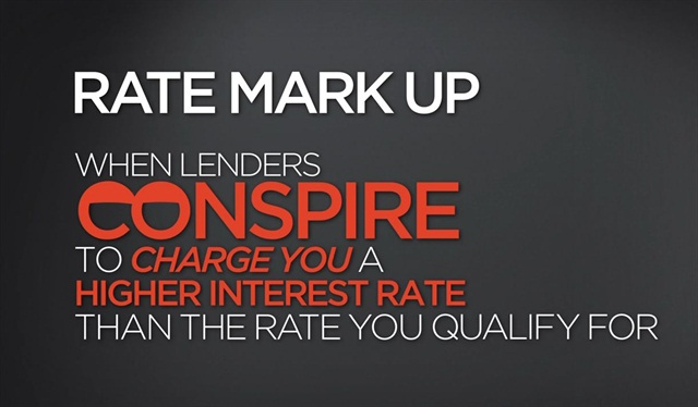 A screenshot pulled from Space Coast Credit Union's ad campaign denouncing rate markups.