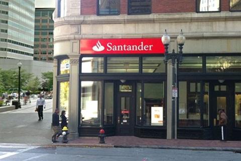 santander payoff number