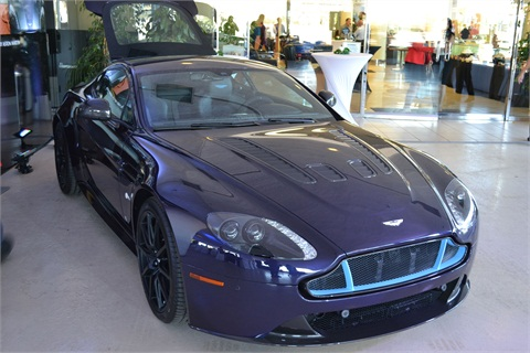 Galpin Aston Martin Debuts OEMs Q Program News FI And Showroom - Galpin aston martin