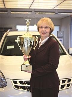 <p>Dina Wilson of Timbrook Automotive</p>