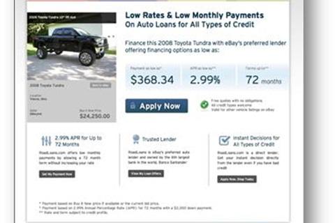 Ebay Motors Partners With Roadloans News F I And Showroom