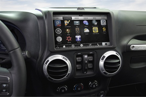 QNX Software Systems allows drivers to interact with Facebook members as they drive on a hands-free system.