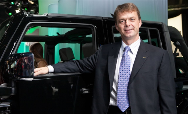 FCA has named Mike Manley its CEO to replace an ailing Sergio Marchionne.Photo courtesy of FCA.