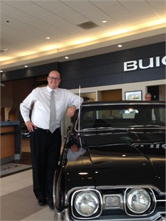 <p>Justin Gasman of McCaddon Cadillac Buick GMC</p>