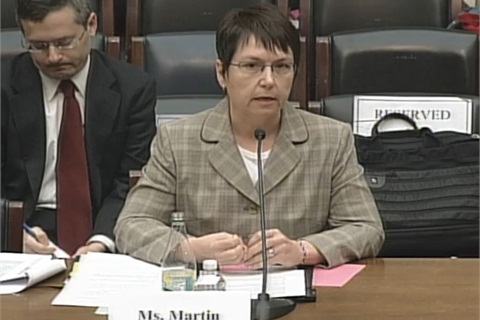 <p>Angela Martin testified before Congress this week that the Consumer Financial Protection Bureau has a widespread culture of discrimination and retaliation against its employees.</p>