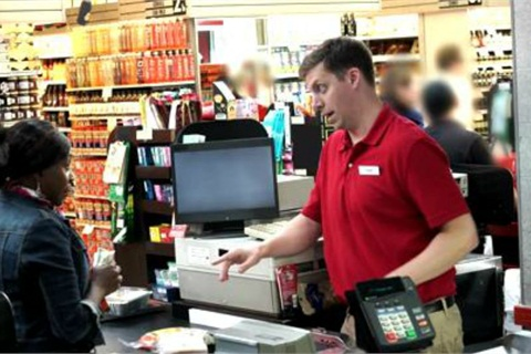 Edmunds' 'Absurdity of Haggling' campaign included four YouTube videos that depict a cashier trying to overcharge customers for items at a grocery store, then haggling with shoppers who refused to pay.