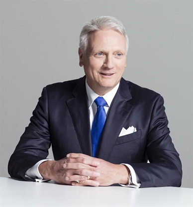 Winfried Vahland, president and CEO of the newly formed Volkswagen North American Region group.