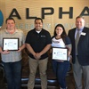 Alpha Warranty Managers Honored With National Guard Patriot Award
