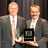 Riverside Auto Group's Tom Wilson and Matt Dagenais accepted the F&I Dealer of the Year award at the 2010 F&I Conference in Las Vegas.