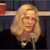 Rosemary Shahan, president of CARS, speaks at the CFPB's first public forum on auto lending in November.
