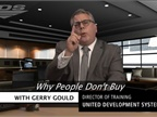 F&I Tip of the Week: Why People Don't Buy